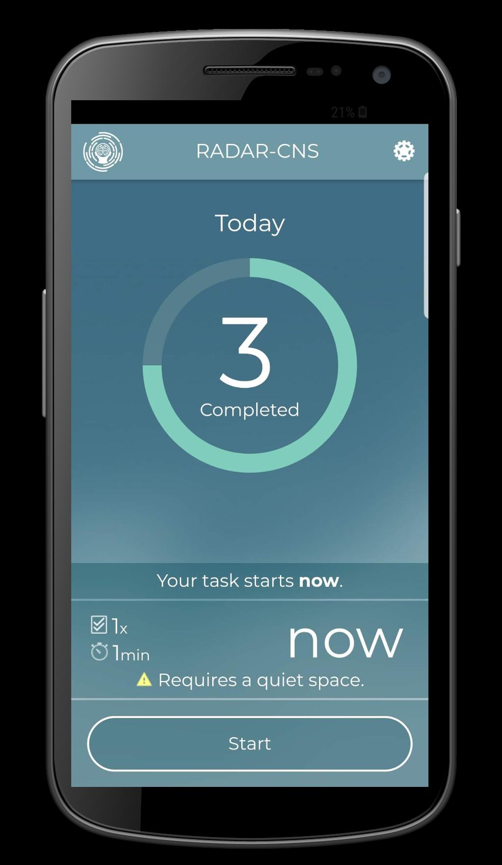 Questionnaire App | RADAR-base