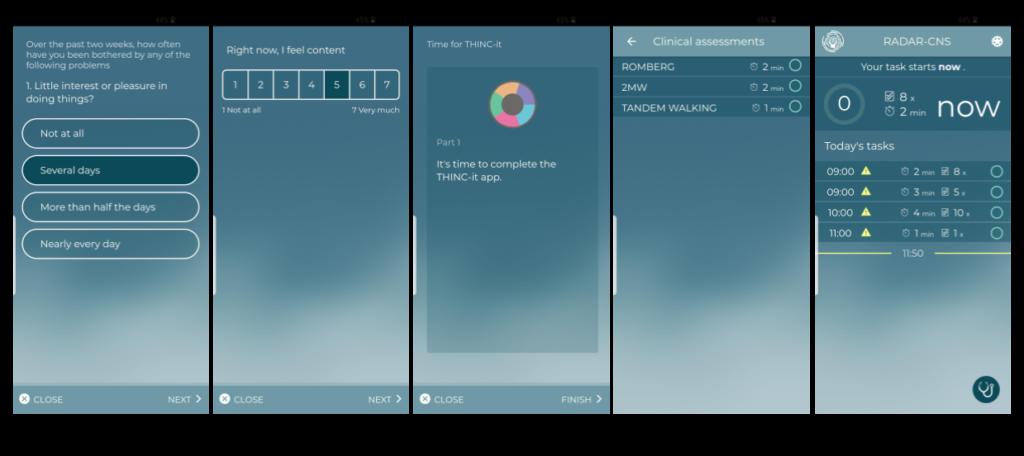 Try out aRMT app | RADAR-base